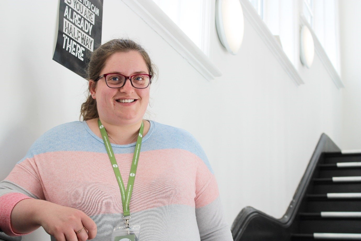 how assistant development coach Louise uses her own experience of homelessness to support customers